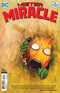 Mister Miracle book cover