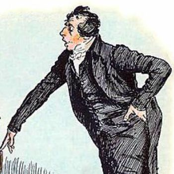 Mr. Collins in Tag Yourself: PRIDE AND PREJUDICE | BookRiot.com
