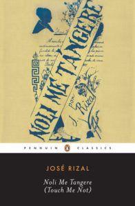 Book cover of Jose Rizal's Noli Me Tangere