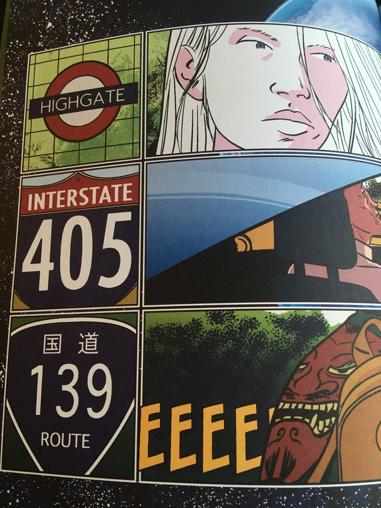 three road signs and locations from celeste