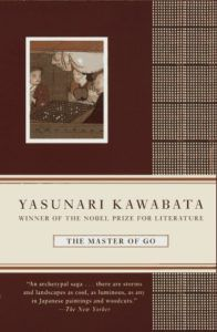 Book cover of Yasunari Kawabata;s The Master of Go