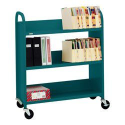 Traditional Book Cart in Book Fetish: Volume 299 | BookRiot.com