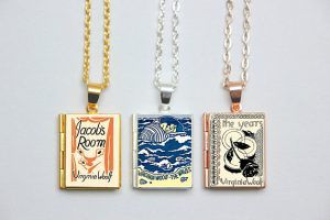 Virginia Woolf Book Locket Charms in Book Fetish: Volume 299 | BookRiot.com
