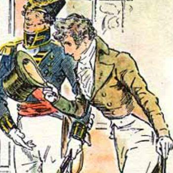 Mr. Wickham in Tag Yourself: PRIDE AND PREJUDICE | BookRiot.com