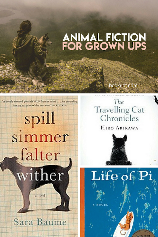 Animal Fiction | Books About Animals | Adult Books About Animals