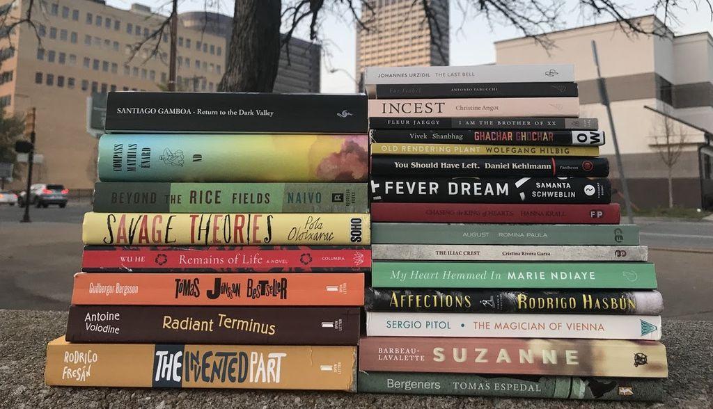 Best Translated Book Award 2018 Fiction longlist selections. Best Translated Book Award 2018 Longlist