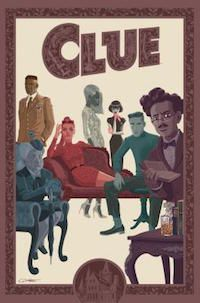 Clue book cover