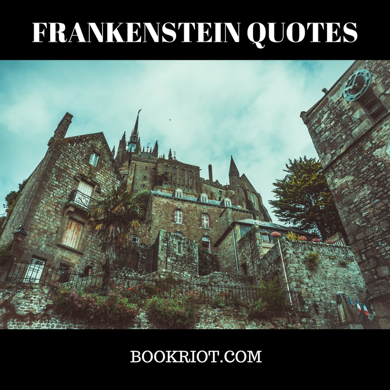 40 Frankenstein Quotes From Mary Shelleys Classic Book Riot