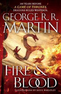 Fire & Blood George R R Martin Cover