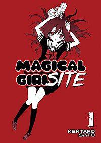 Magical Girl Site cover by Kentaro Sato