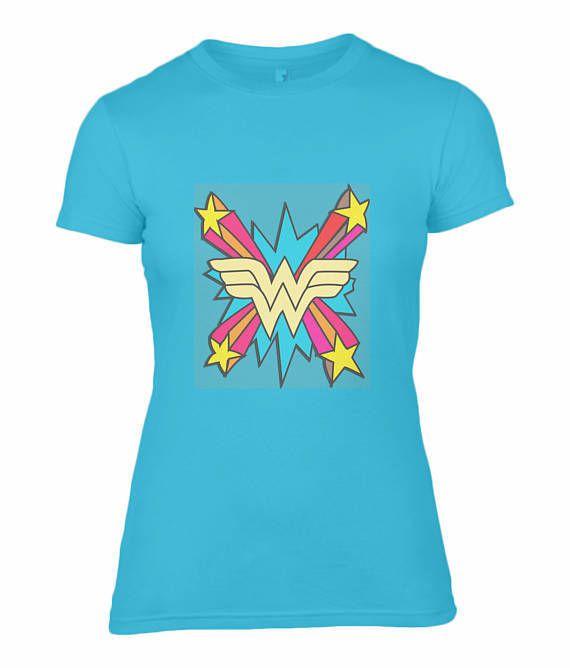 Wonder-Woman-Neon-Teal-Shirt