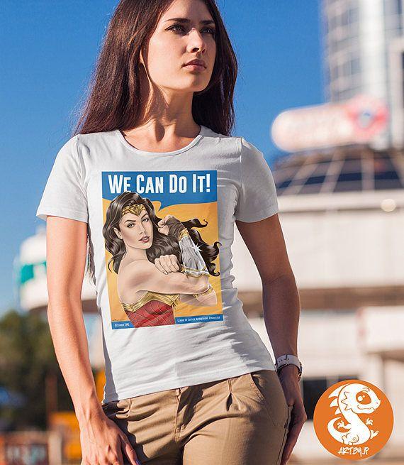 Wonder-Woman-Rosie-the-Riveter-T-Shirt