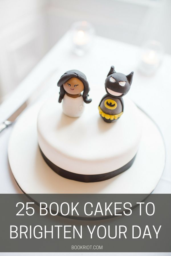 25 Book Cakes to Brighten Your Day | BookRiot.com | Book Cakes | Cakes | Cake Decorating | Harry Pottery | #cakes #cakedecorating #cakedesign #harrypotterforever #bookcakes