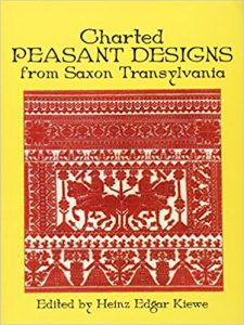 Charted Peasant Designs from Saxon Transylvania by Heinz E. Kiewe in The Best Cross Stitch Books | BookRiot.com