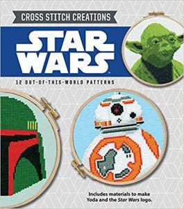 Cross Stitch Creations Star Wars by John Lohman in The Best Cross Stitch Books | BookRiot.com