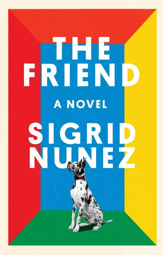 the-friend-by-sigrid-nunez-book-cover