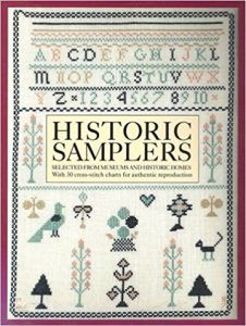 Historic Samplers by Patricia Ryan and Allen D. Bragdon in The Best Cross Stitch Books | BookRiot.com