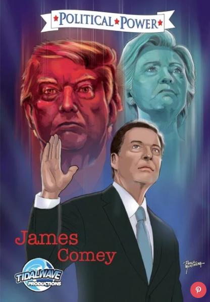 James Comey comic
