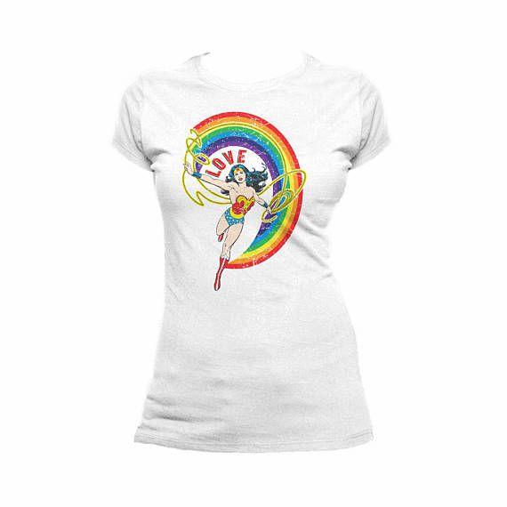 love-rainbow-wonder-woman-t-shirt