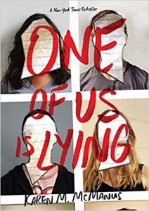 One Of Us Is Lying by Karen McManus cover