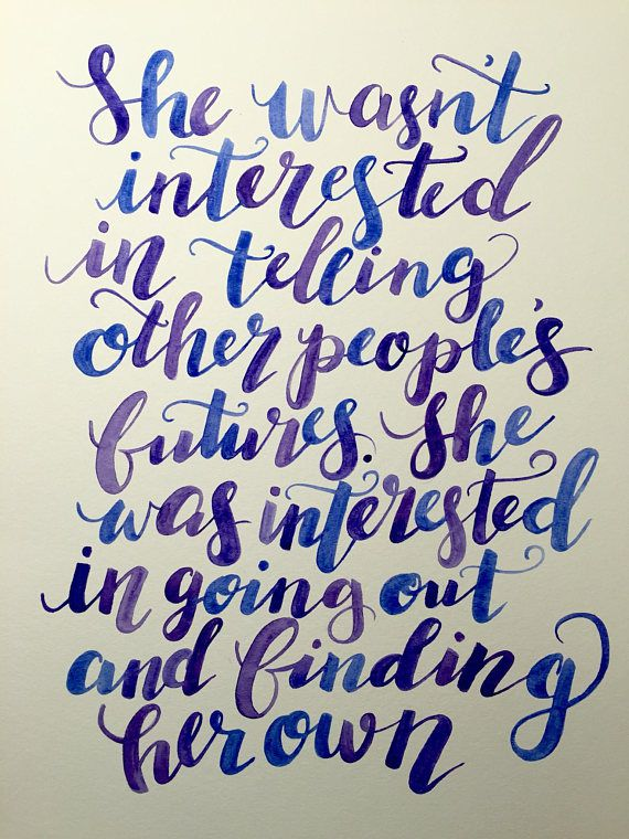 YA Book Quotes As Art, Clothing, and More