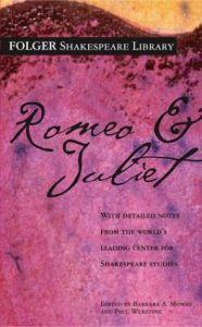 romeo and juliet william shakespeare cover greek or roman myth