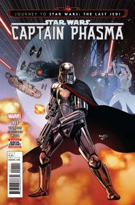 Star Wars: Captain Phasma from A Beginner's Guide to Star Wars Comics | bookriot.com