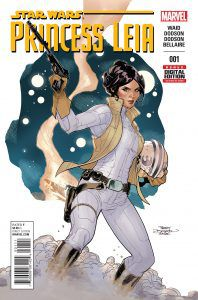 Star Wars: Princess Leia from A Beginner's Guide to Star Wars Comics | bookriot.com
