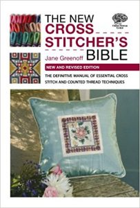 The New Cross Stitcher's Bible by Jane Greenoff in The Best Cross Stitch Books | BookRiot.com