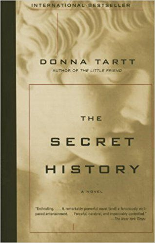 the secret history donna tartt cover greek or roman myth