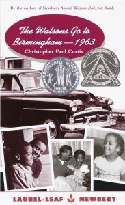 The Watson's Go to Birmingham 1963 book cover