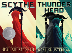 scythe series by neal shusterman covers