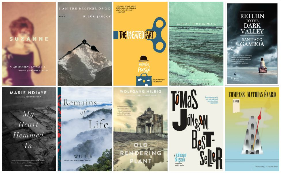Best Translated Book Award 2018 Shortlist Fiction