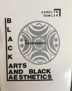 black arts and black aesthetics