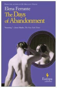 the days of abandonment by elena ferrante cover