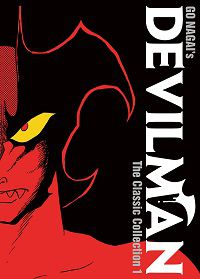 Devilman - The Classic Collection volume 1 cover by Go Nagai