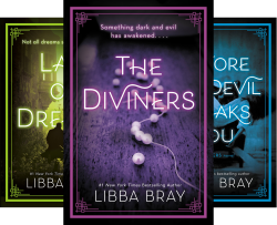the diviners series by libba bray book covers