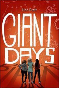 giant days novel by non pratt book cover