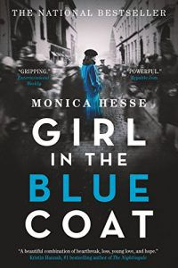 the girl in the blue coat book cover