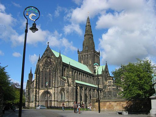 Photo of Glasgow Cathedral in Literary Tourism: Scotland | BookRiot.com