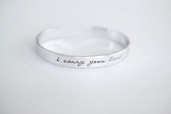 i carry your heart ee cummings bracelet