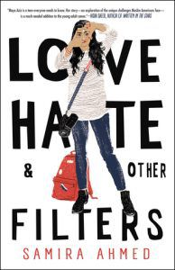 love hate and other filters by samira ahmed cover