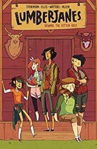 Lumberjanes book cover
