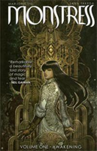 Monstress-volume-1-cover by Marjorie Liu and Sana Takeda