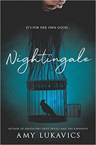 Nightingale by Amy Lukavics book cover