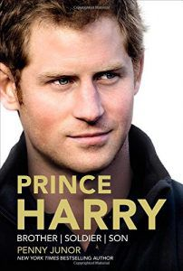 Prince Harry Brother Soldier Son book by Penny Junor