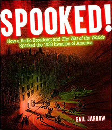spooked by gail jarrow book cover