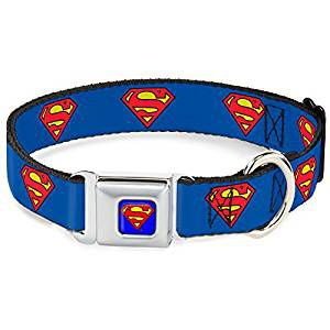 superman collar | superhero accessories for dogs | bookriot.com