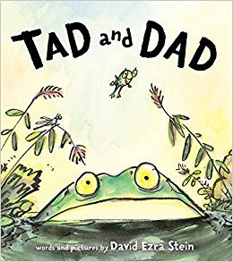 TAD AND DAD BY DAVID EZRA STEIN book cover
