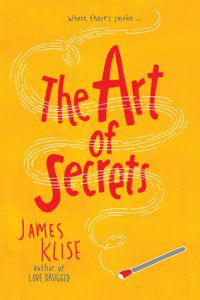 the art of secrets by james klise book cover
